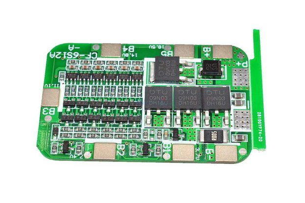 bms 6S 15A 25.5V Lithium battery charge Board
