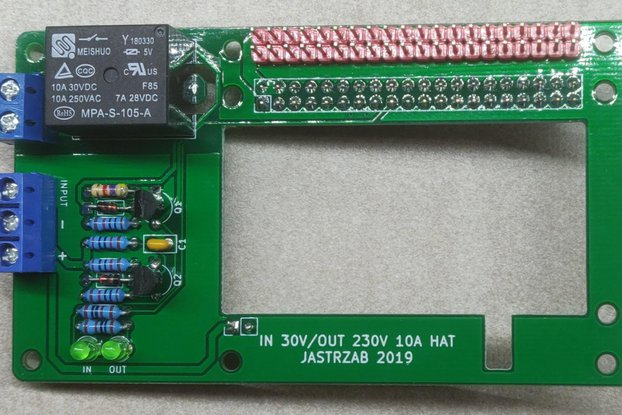 Raspberry PI Input/Output HAT
