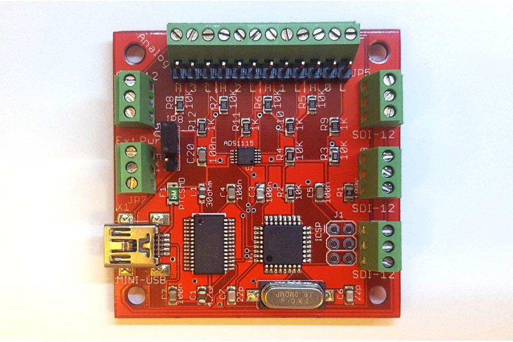 SDI-12 USB Adapter with Analog inputs 1