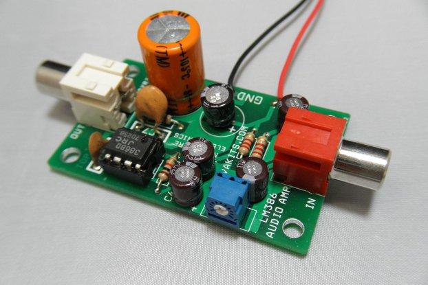 Electret Microphone Amplifier Kit (#1695-EM)
