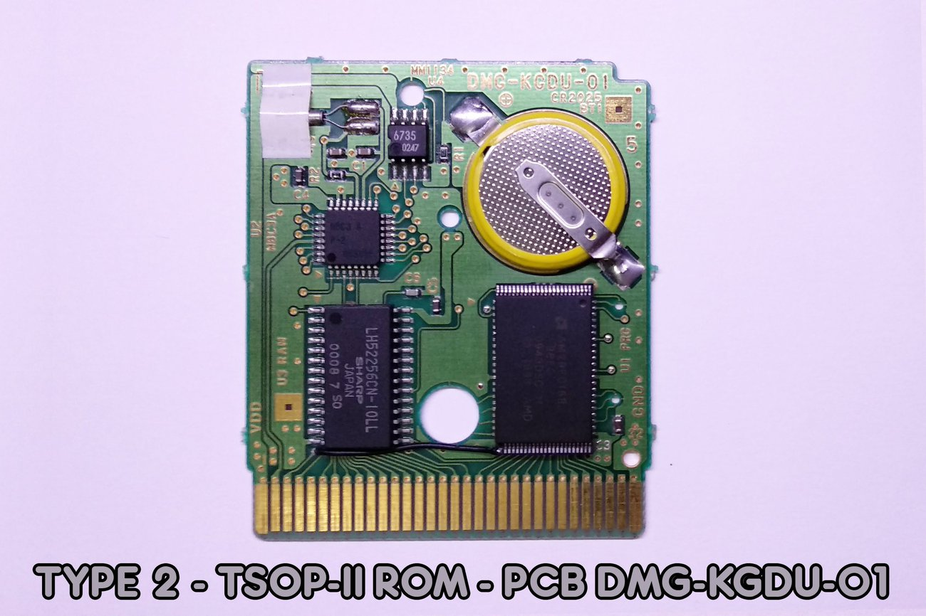 Pre-Modded Flash Cartridge with MBC3 + RTC (Timer)