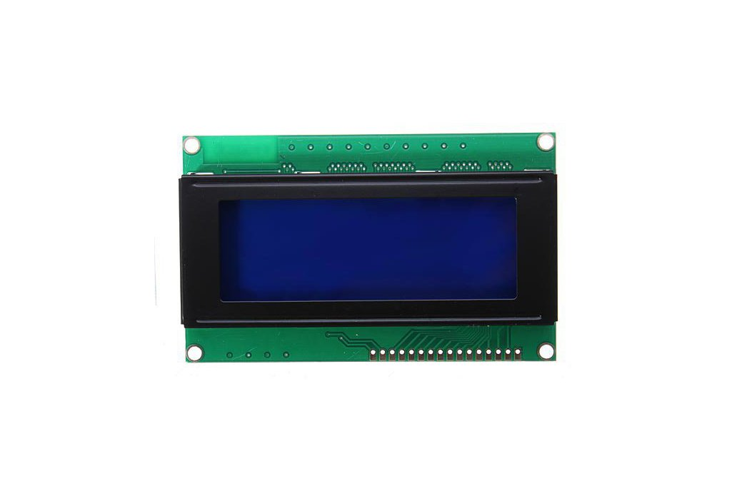 5V 2004 20X4 204 2004A LCD Display Module Blue Screen For Arduino 2