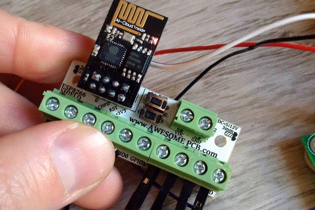 ESP8266 Wi-Fi - SCREW SHIELD