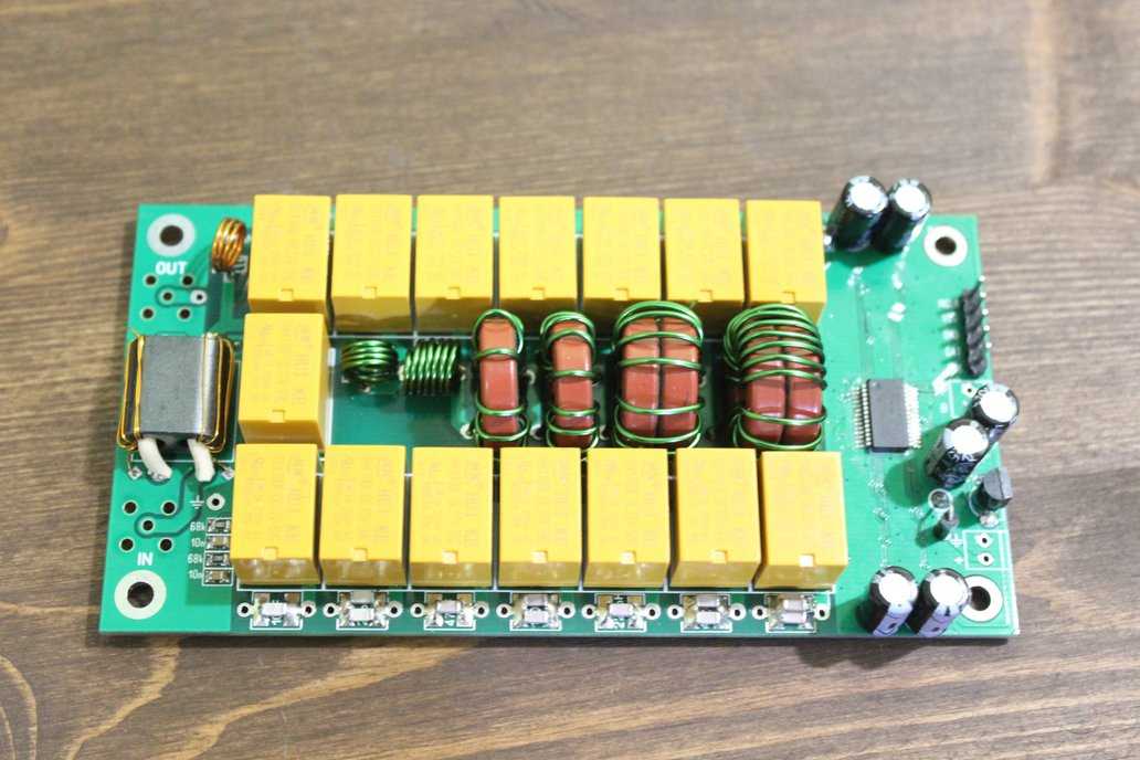 Automatic Antenna Tuner 7x7 ATU-100 mini by N7DDC 1