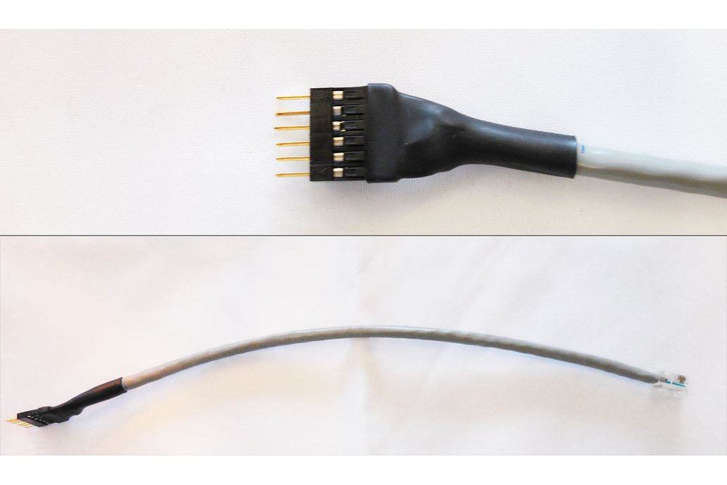 "10"" Male PIC Programming Cable 1"