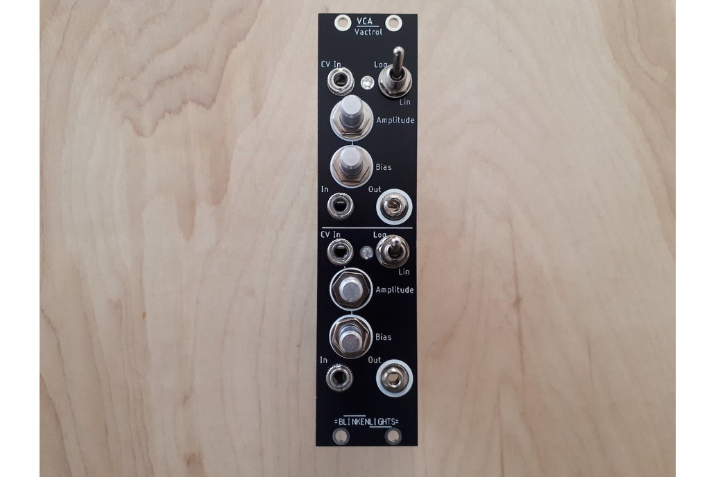 Vactrol Dual VCA for Eurorack - 6HP 1