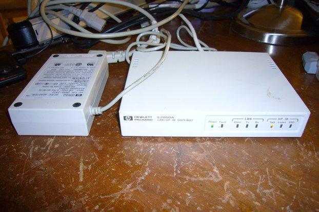 Agilent E2050A GPIB HPIB over network Gateway
