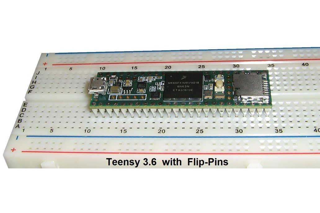 Flip-Pins for Teensy 3.5 or 3.6 (4 sets) 1