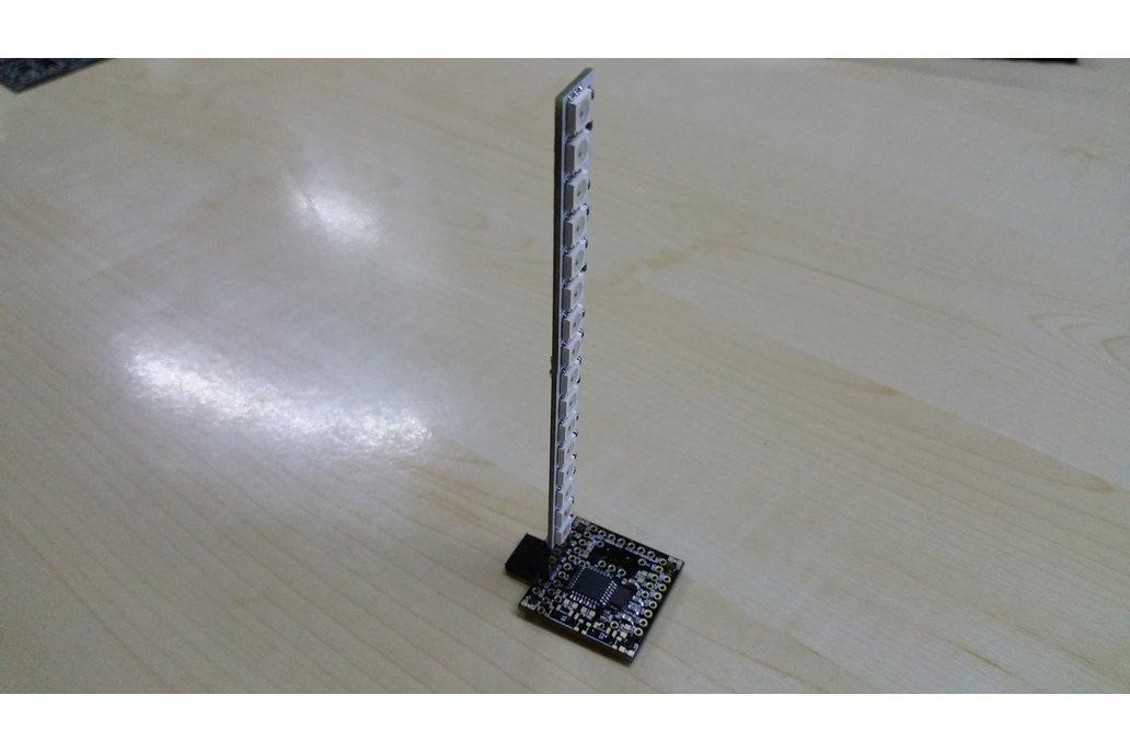 OLEDiUNO Neopixel VU-Meter 4