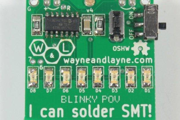 Blinky POV SMT