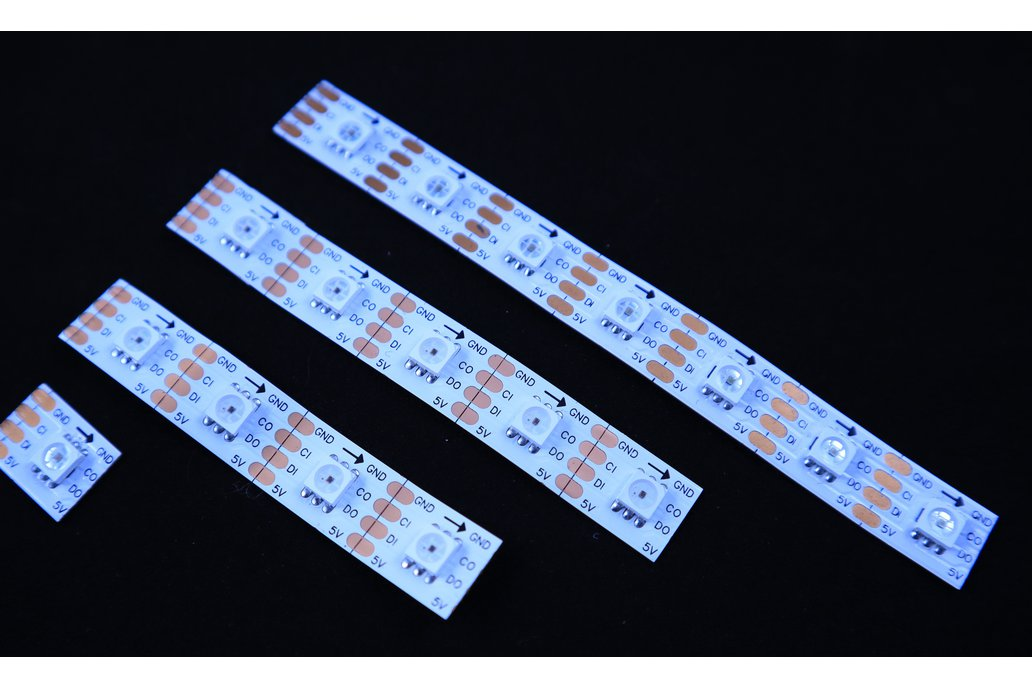 APA102 LED strip for wearable PCB 1