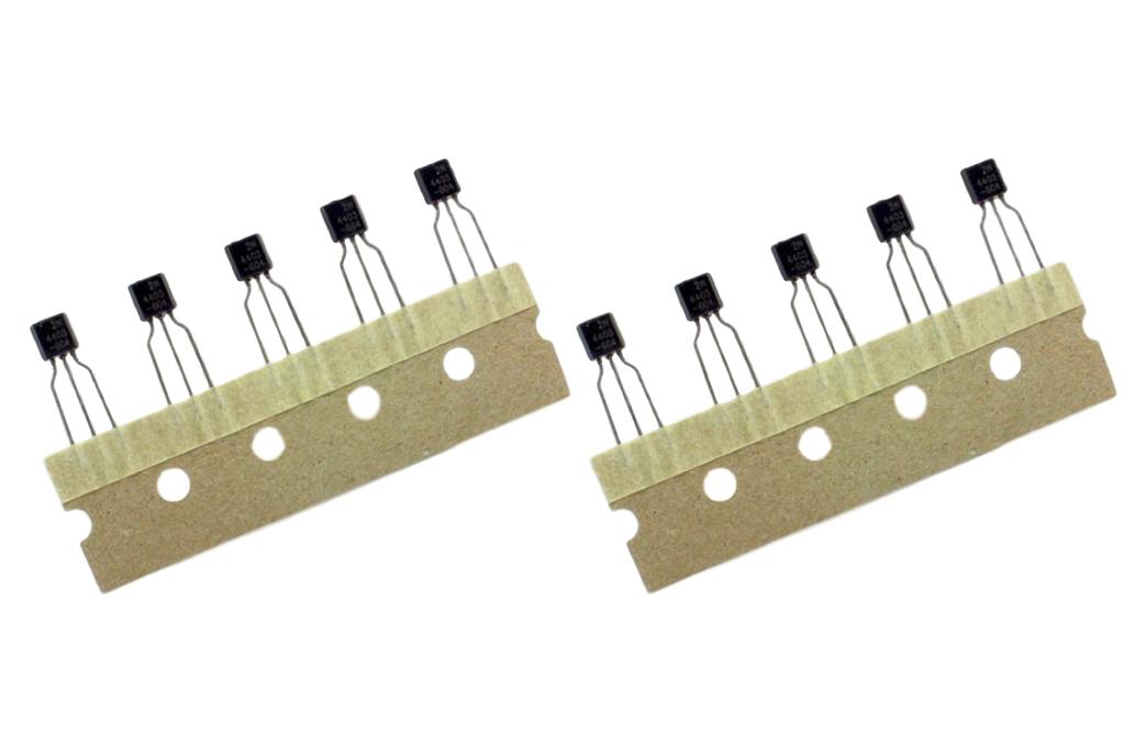 Fairchild On-Semi 2N4403 PNP Transistor Pack of 10 1