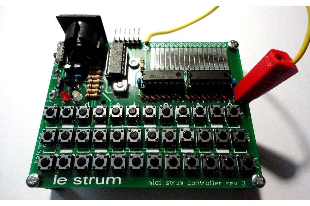 LE STRUM  - MIDI Strummed Chord Controller Kit 2