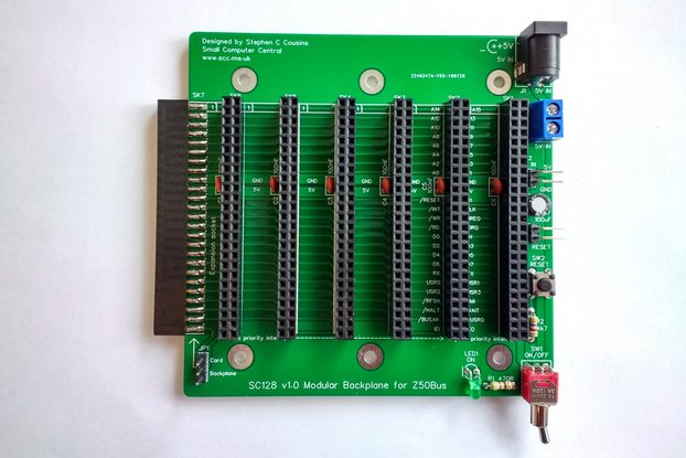 SC128 Modular Backplane Kit for Z50Bus