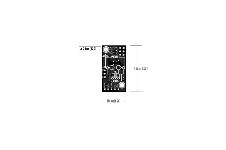 BerryIMUv2-accelerometer, gyroscope, magnetometer