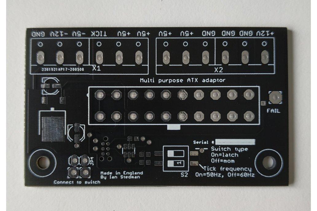 Multipurpose ATX Adaptor by Ian Stedman 1