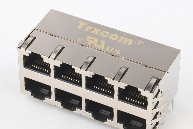 2x4 Multiple Ports RJ45 Integrated Connector