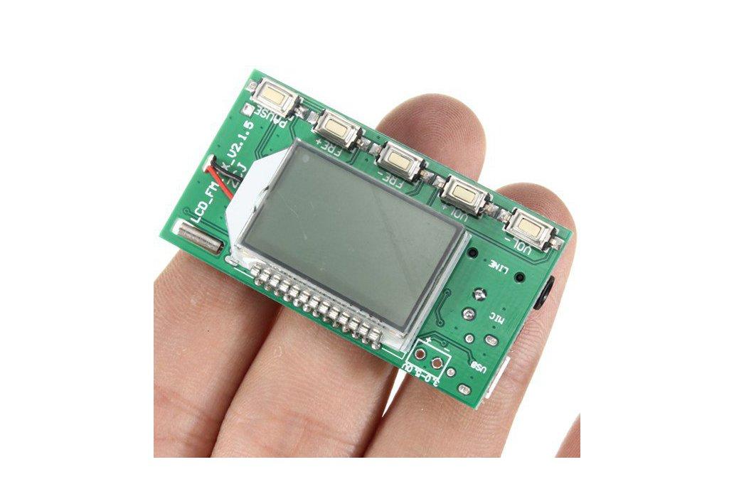 DSP PLL FM Transmitter Module - USB/Aux-In - 100mW 5