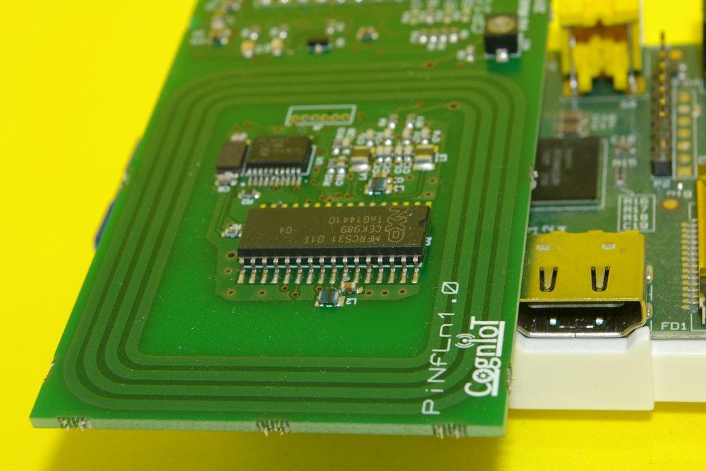 NFC Reader for Raspberry Pi 3