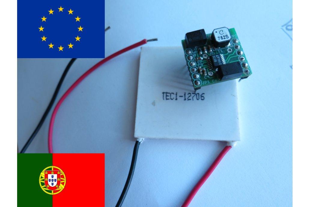 Energy harvesting module LTC3108 Thermal peltier 2