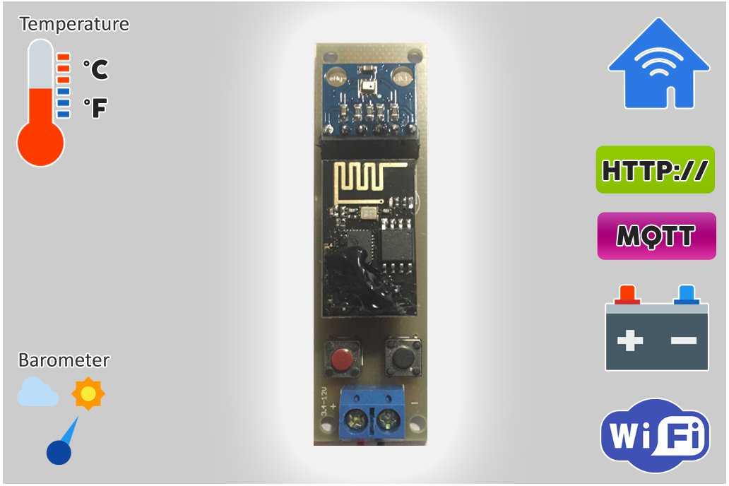 Low Power Temperature and Pressure WiFi tracker s3 3