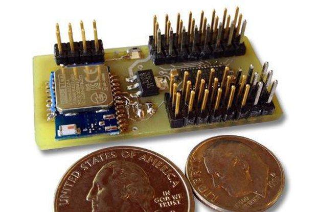 Blue-Rx: A 16ch Bluetooth 4.0 Servo Controller
