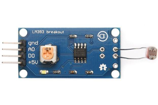 Light sensor with LM393