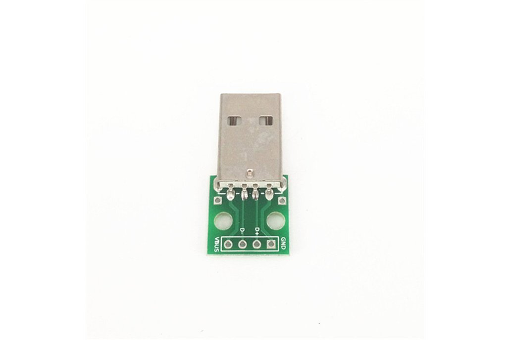 USB male head to Dip 2.54mm  1