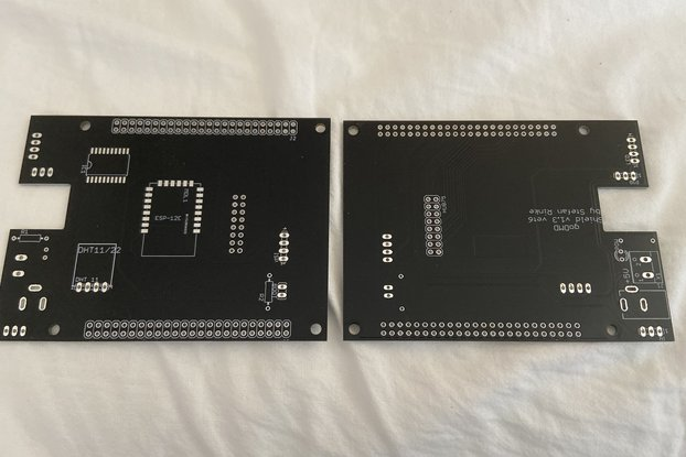 GO-DMD pinball clock bare PCB for VET6 controller