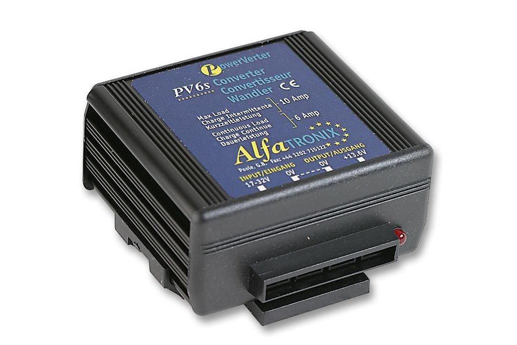ALFATRONIX  PV6S,  24V to 12V DC converter 1