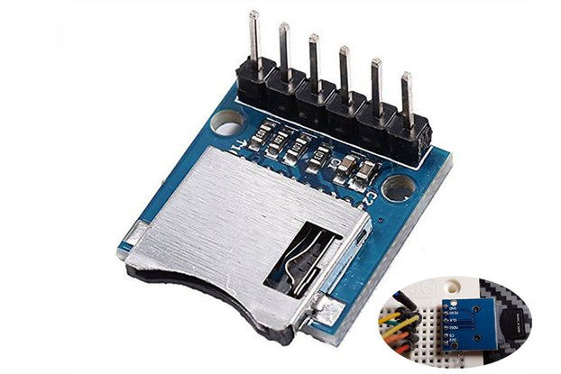 Mini SD Card Module Memory Module for Arduino_5043