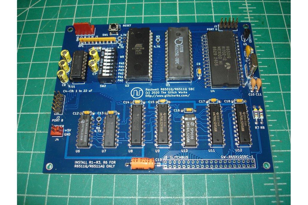 Glitch Works R6501Q/R6511Q Single Board Computer 1