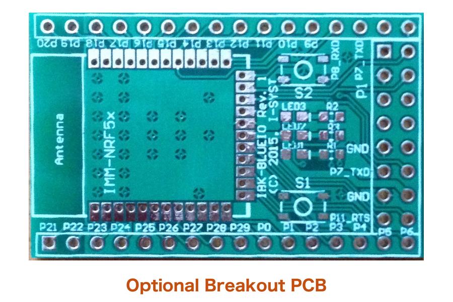 Bluetooth Smart module with ARM Core & 30 I/O