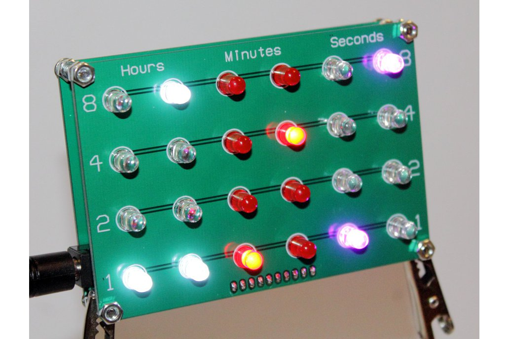 GPS-Controlled Binary Clock Kit 1