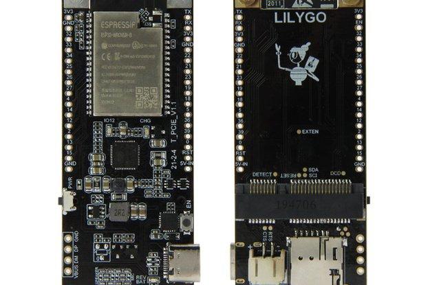 LILYGO® TTGO T-PCIE ESP32-WROVER-B AXP192 Chip