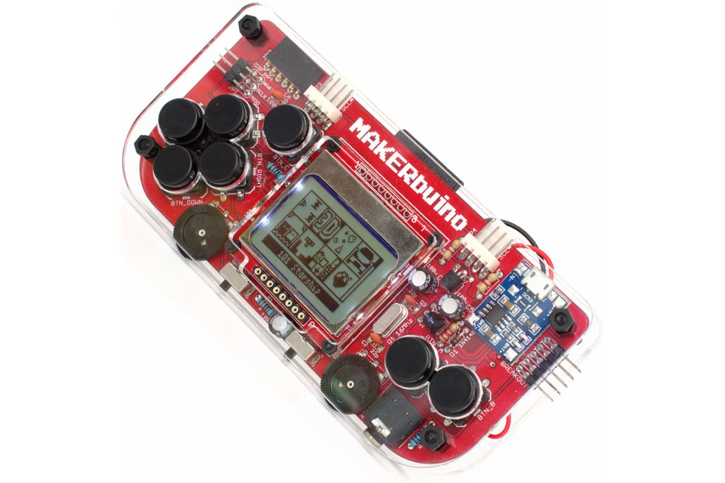MAKERbuino - a DIY game console 1