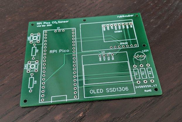 Pico CO₂ Sensor (Bare PCB) Raspberry Pi
