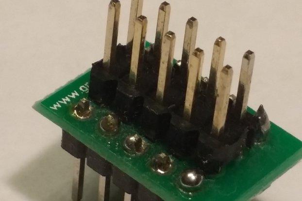 Breadboard AVR ISP Adapter Kit