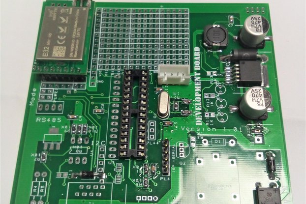 AT MEGA 328 P - A.V.R Development Board