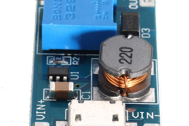 2A DC-DC Boost  2V-24V to 5V-28V MicroUSB adjustab