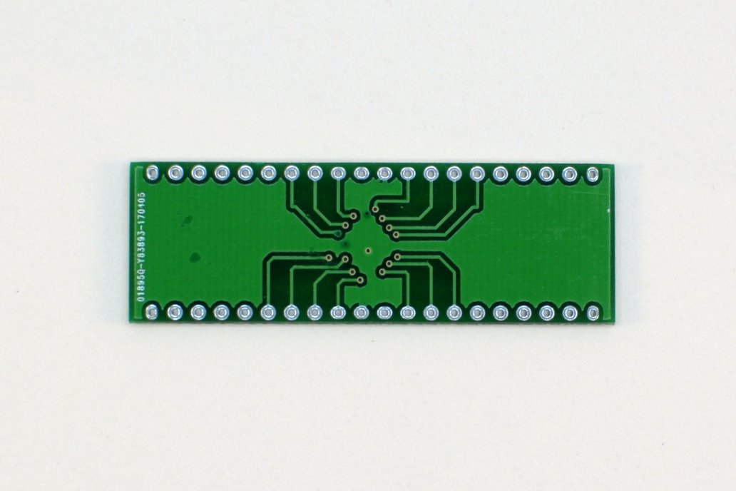 Breakout board for ATmega1284 4