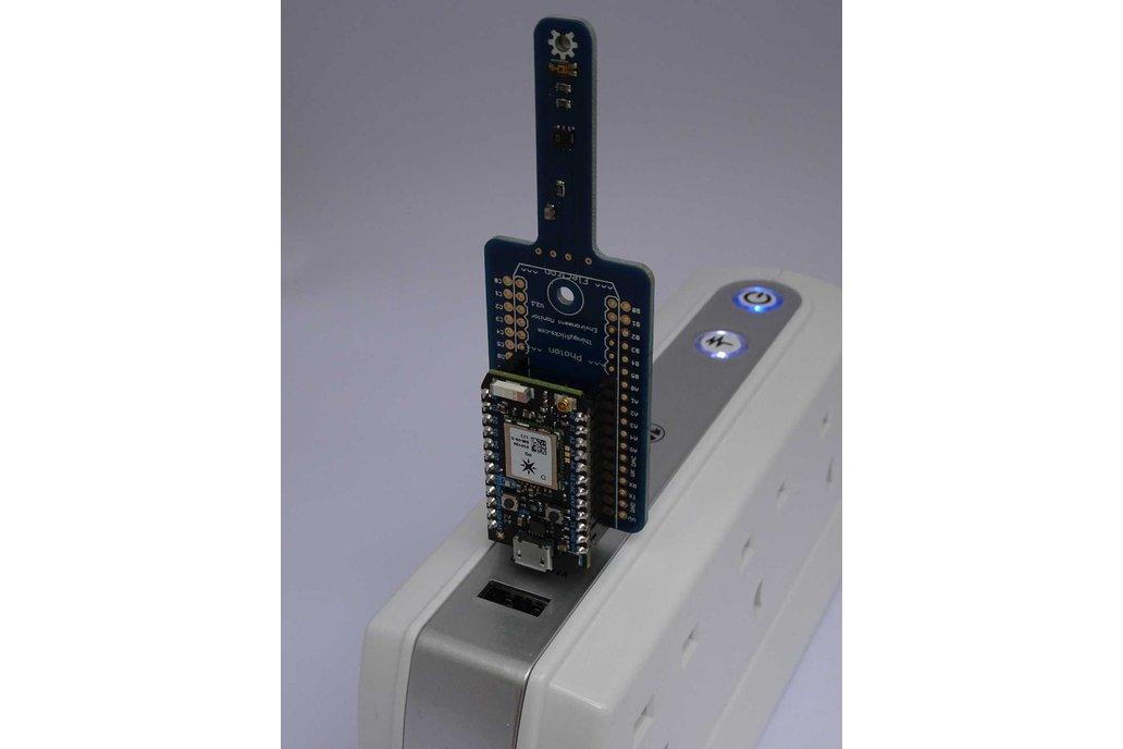 Environment Sensor for the Photon or Electron. 6