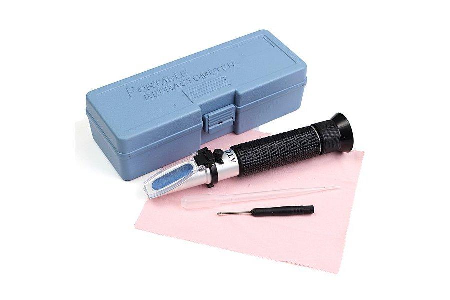 Portable Refractometer Salinity Test Hydrometer