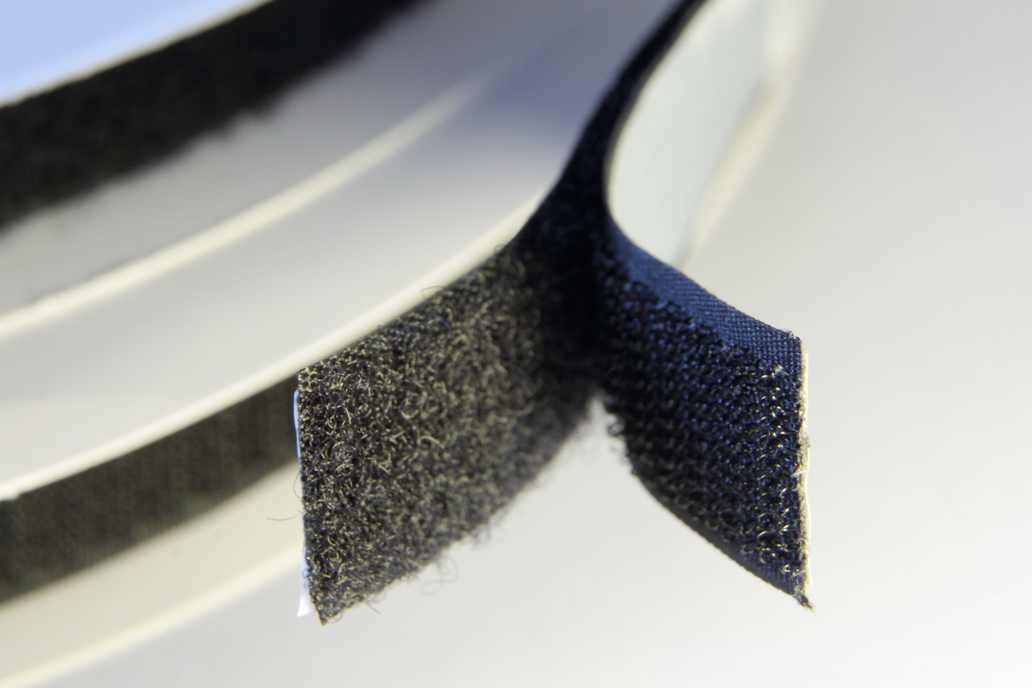 Hook and Loop Tapes with acrylic adhesive 1
