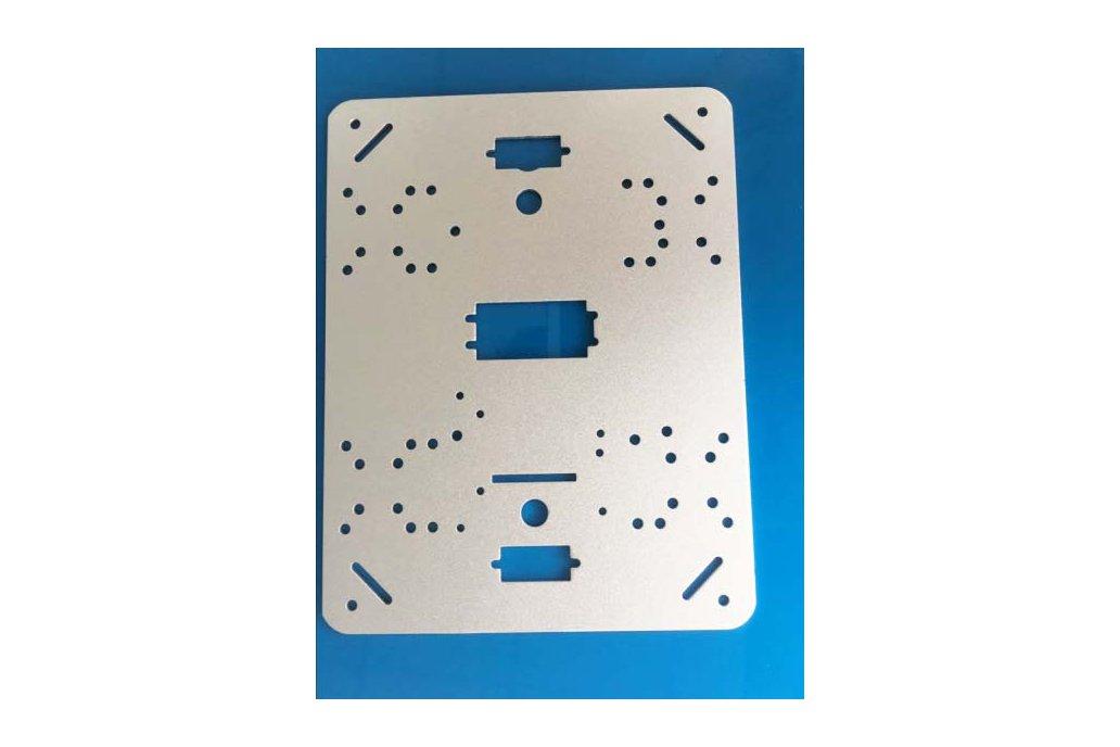 Metal Panel Frame Plate for Robot Tank Car Chassis 1