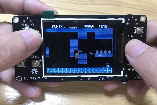 ESPlay Micro - Open Source ESP32 Game Console