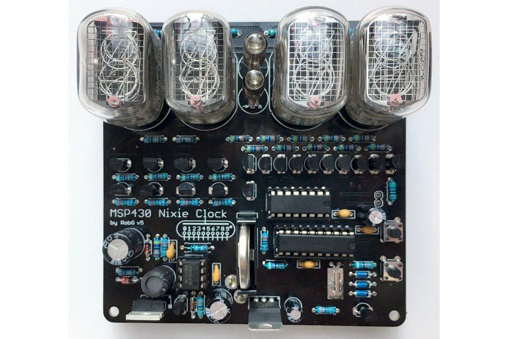 MSP430 Nixie Clock kit 4