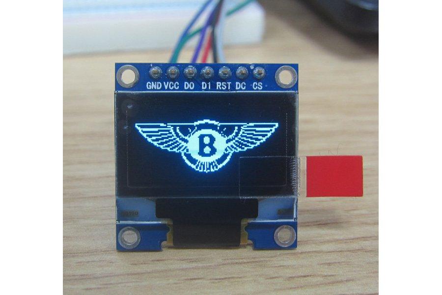 OLED 0.96inch 12864 display module blue