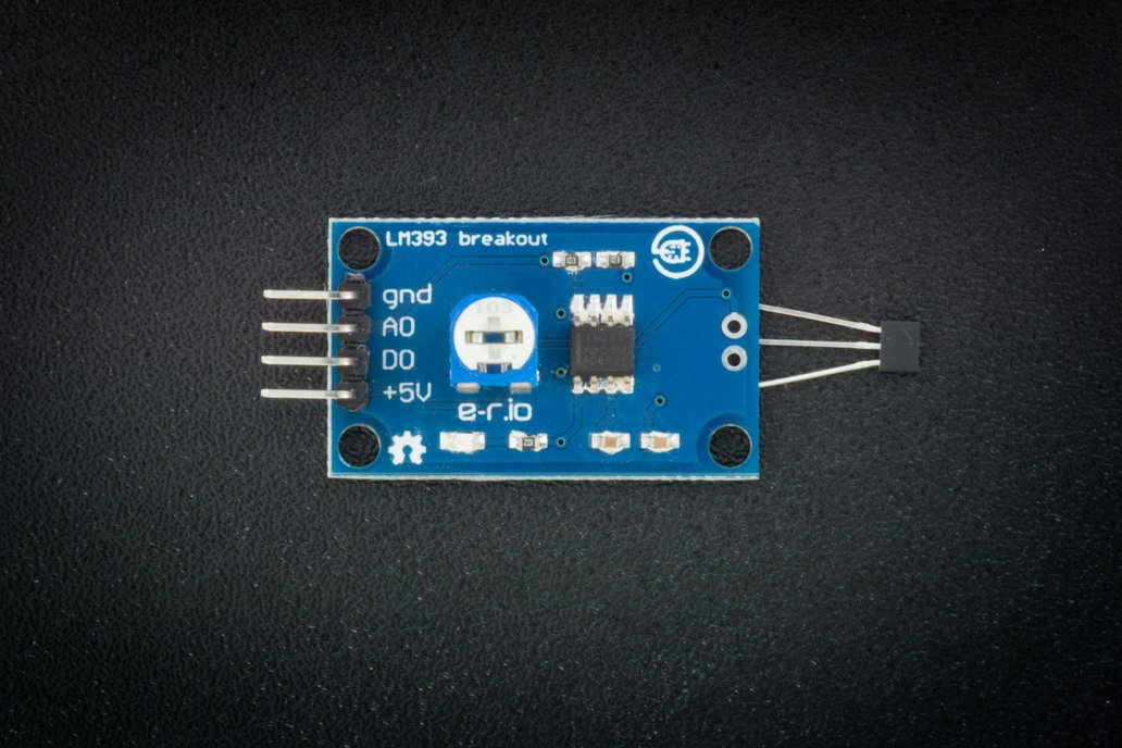 Hall effect sensor with LM393 1