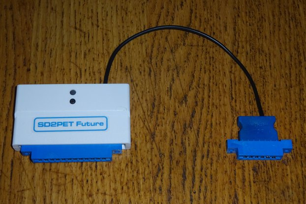 SD2PET Future - SD card drive for Commodore PET